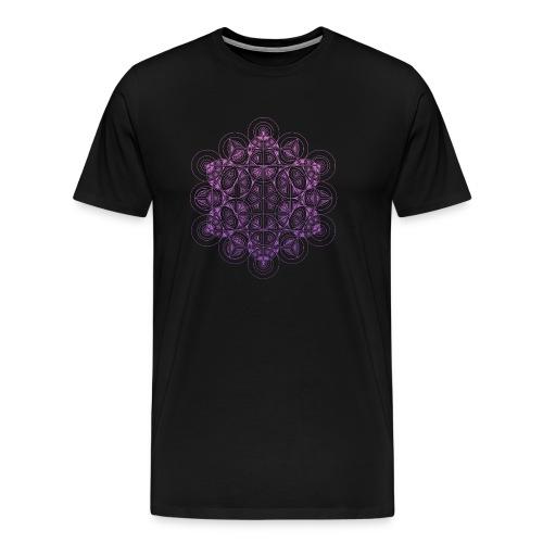 Sacred Traingle Circles Gradient - Men's Premium T-Shirt