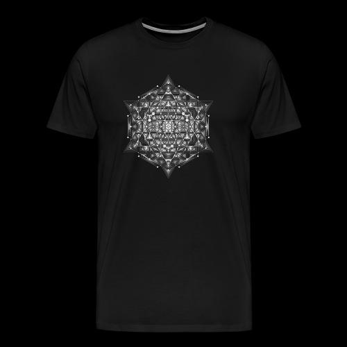 Sacred Hypercube - Men's Premium T-Shirt