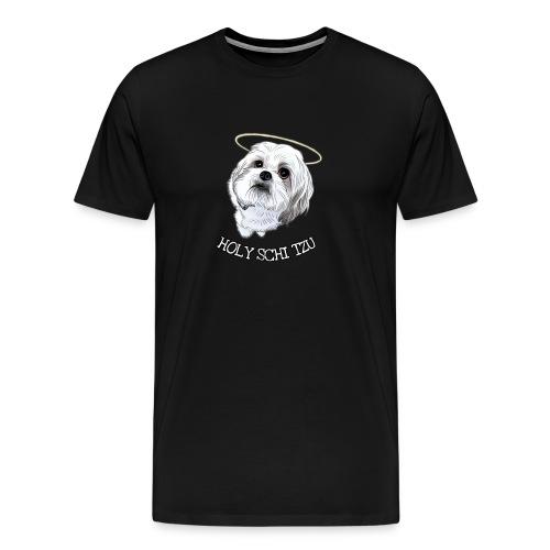 HOLY SCHI TZU - Men's Premium T-Shirt