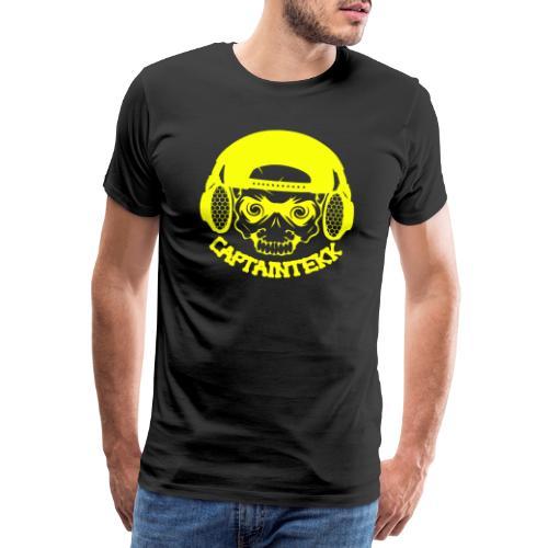 CaptainTekk Logo (Gelb) - Männer Premium T-Shirt