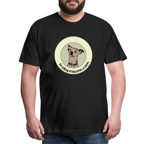 FIJ logo 2020 005 - Premium-T-shirt herr