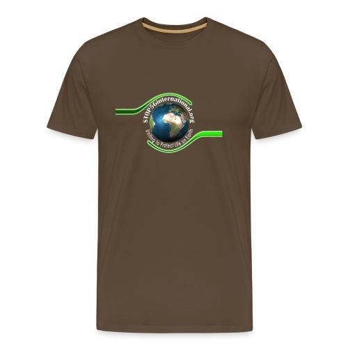 LOGO white font - Men's Premium T-Shirt