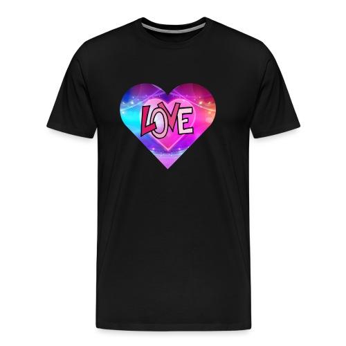love hartje - Mannen Premium T-shirt