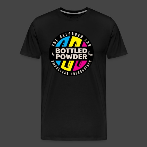 """""""Bottled Powder""""-Shirt für Wiederlader - Männer Premium T-Shirt"""