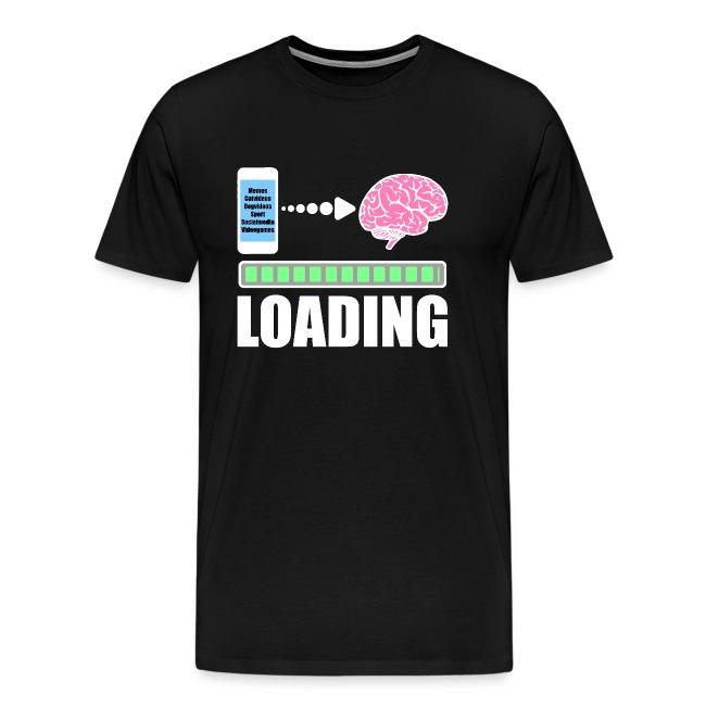Handy Smartphone Sucht Ladebalken