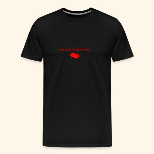 Valentinstag Pärchen Liebe Paar Valentins Tag - Männer Premium T-Shirt