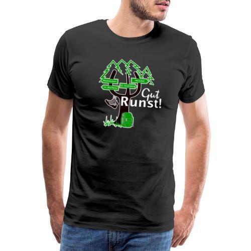 Gut Runst! - Der Rennsteiggruß - Männer Premium T-Shirt