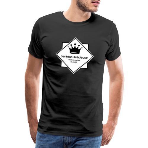 Senteur délicieuse logo - T-shirt Premium Homme