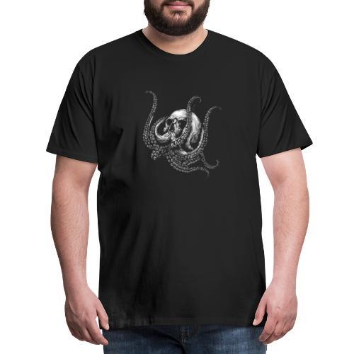 Octopus - Herre premium T-shirt