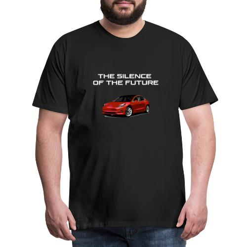 The Silence Of The Future - Men's Premium T-Shirt