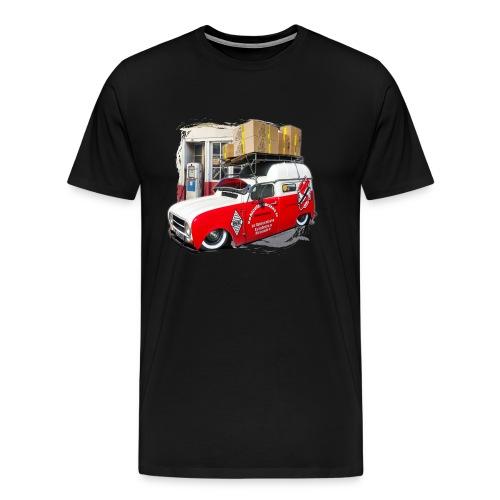 R4 4L F4 vehicules-anciens.fr - T-shirt Premium Homme