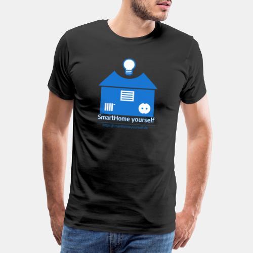 SmartHome yourself Logo Groß - Männer Premium T-Shirt