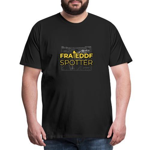 FRA/EDDF-Spotter - Miesten premium t-paita