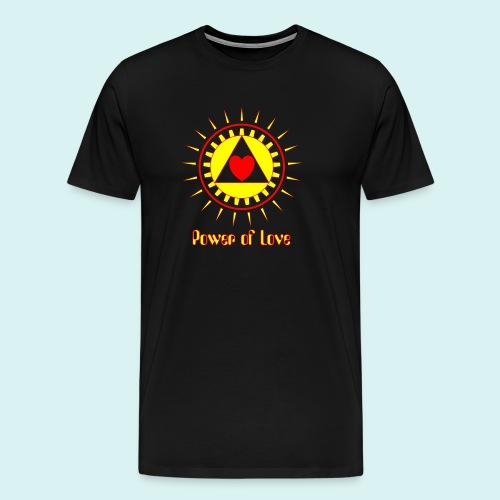 Power of Love - T-shirt Premium Homme