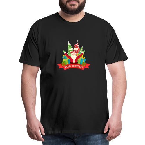 Santa Claus - Camiseta premium hombre