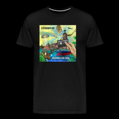 Degeneracion 2020 - Premium-T-shirt herr