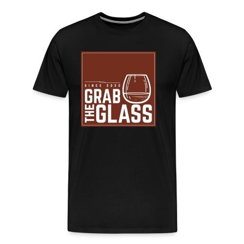 Grabtheglass LOGO - Männer Premium T-Shirt