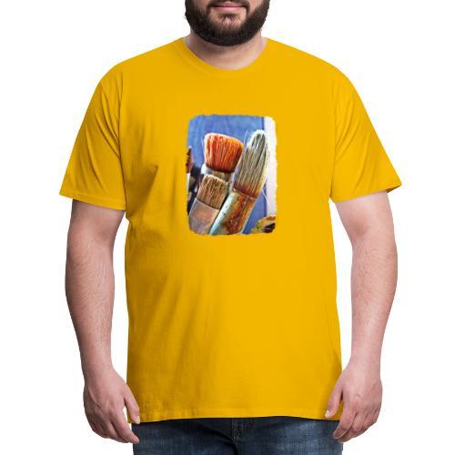 Penslar - Premium-T-shirt herr