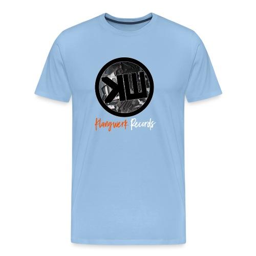 white logo tshirt - Men's Premium T-Shirt
