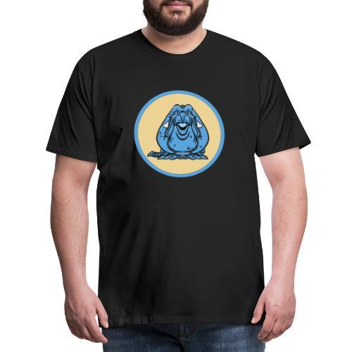 Blue Monster - Premium-T-shirt herr