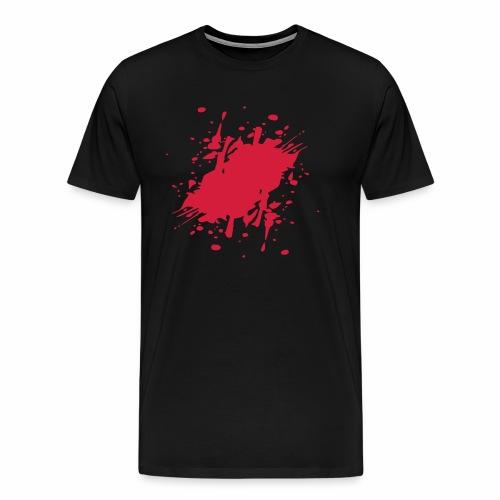 blutfleck - Männer Premium T-Shirt