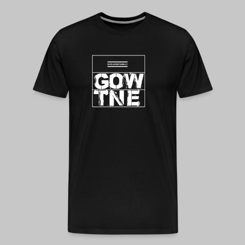 GOWENTGONE logo HP - Männer Premium T-Shirt