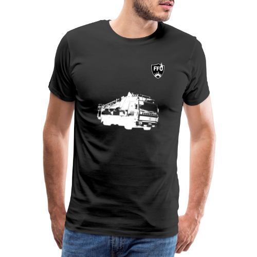 BLACKnWHITE Drehleiter - Männer Premium T-Shirt