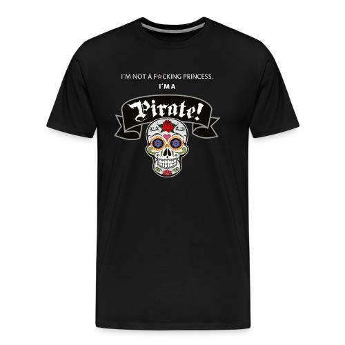 Pirate for Black - Männer Premium T-Shirt