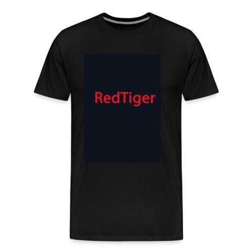 RedTiger Standartlogo - Männer Premium T-Shirt