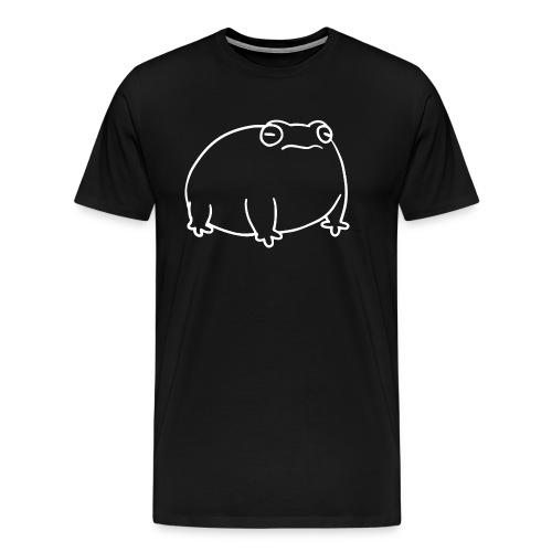 white ribbett - Men's Premium T-Shirt