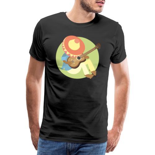 Gitarre spielen - Männer Premium T-Shirt