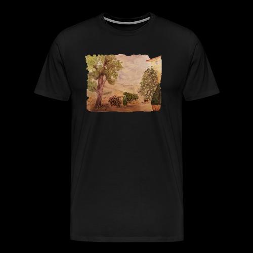 Hinterhof - Männer Premium T-Shirt