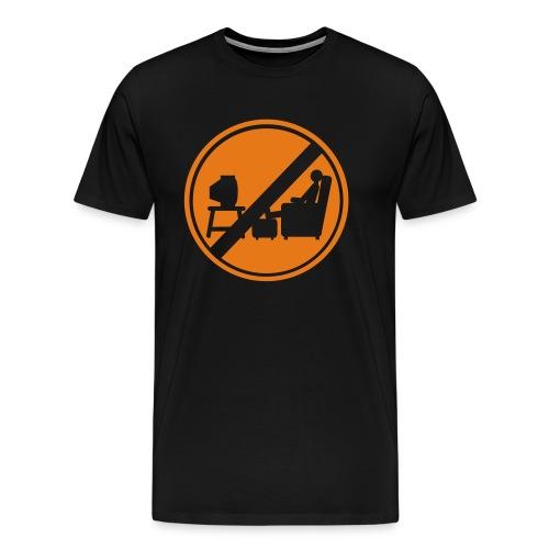 Macho Et Compagnie n'est pas devant la télé - T-shirt Premium Homme