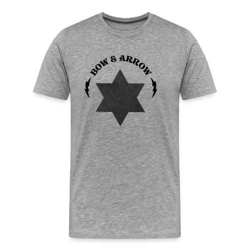 Bow & Arrow Soundsystem - Premium-T-shirt herr