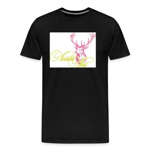stag Vorsicht Wild - Männer Premium T-Shirt