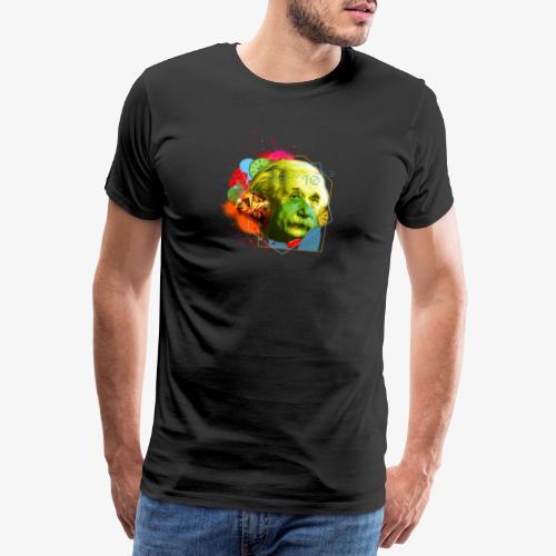 mythica records einstein logo - Men's Premium T-Shirt