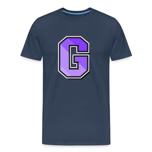 Gaffla Logga - Premium-T-shirt herr