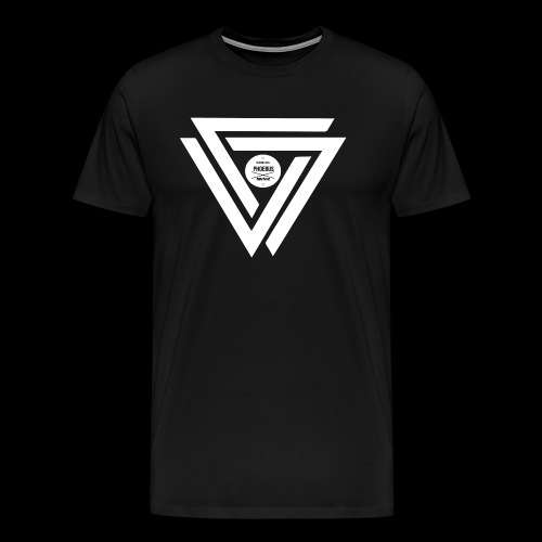 08 logo complet withe - T-shirt Premium Homme