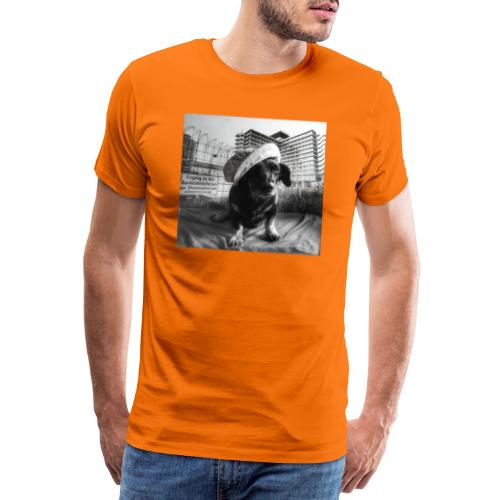 Minister Dog - Männer Premium T-Shirt