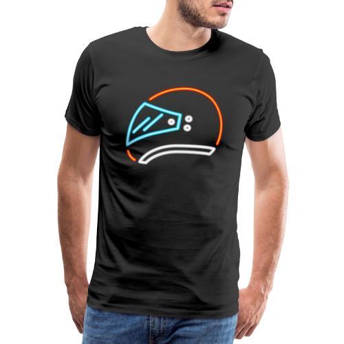 Motorrad Helm - Männer Premium T-Shirt