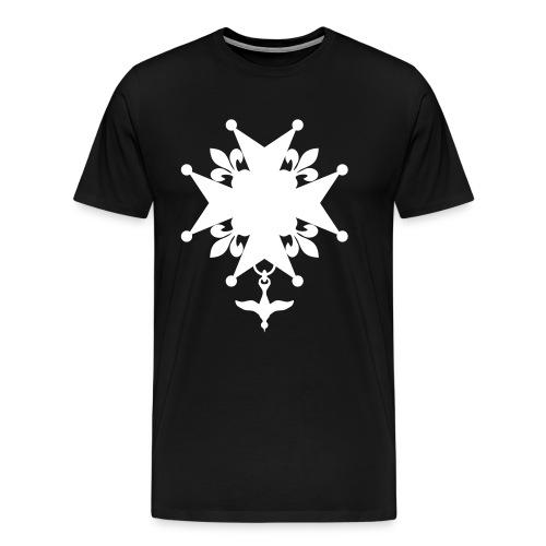 Huguenot_cross - T-shirt Premium Homme