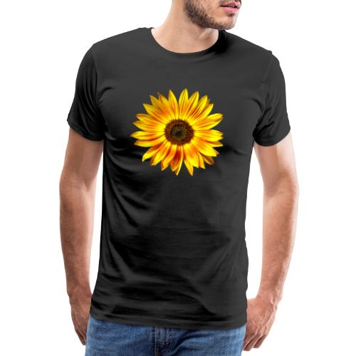 Sonnenblume gelb Sommer - Männer Premium T-Shirt
