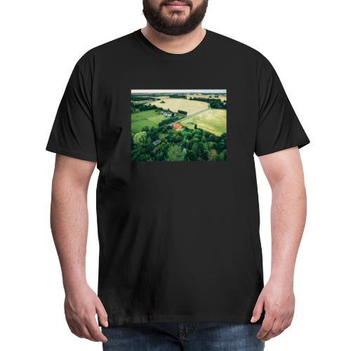bg balloon - Herre premium T-shirt