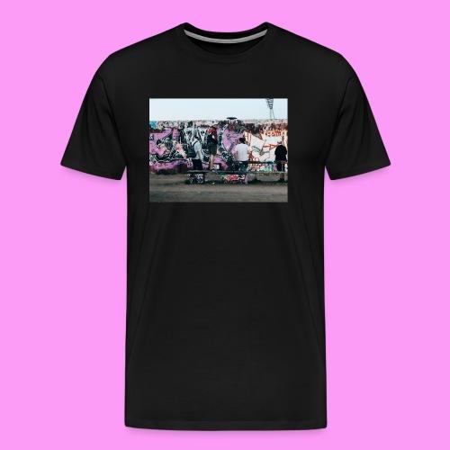 Gangs in Mauerpark - Camiseta premium hombre