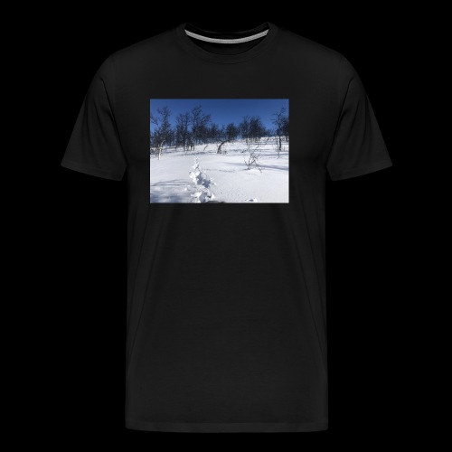 Fin natur - Premium T-skjorte for menn