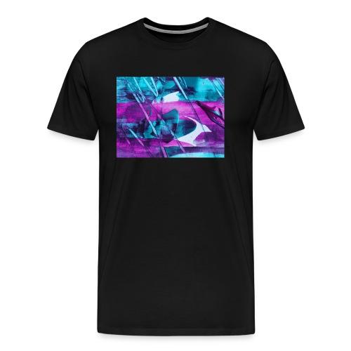 Blue-Lila Style - Männer Premium T-Shirt