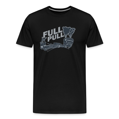 full pull duotone contour landscape - Mannen Premium T-shirt