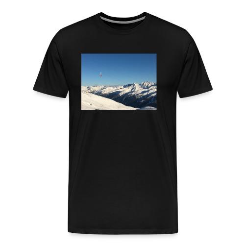 bergen - Mannen Premium T-shirt
