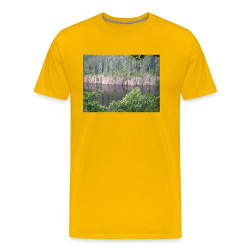 Laatokan maisemissa - Miesten premium t-paita