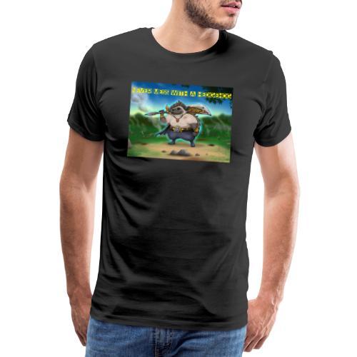 Never mess with a Hedgehog - Männer Premium T-Shirt
